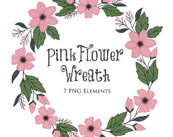Wildflower clipart southwest Art rustic Clip Floral Boho