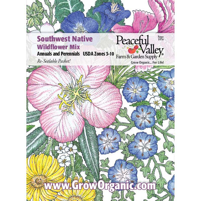 Wildflower clipart southwest (pack) Mix Wildflower Regional Southwest