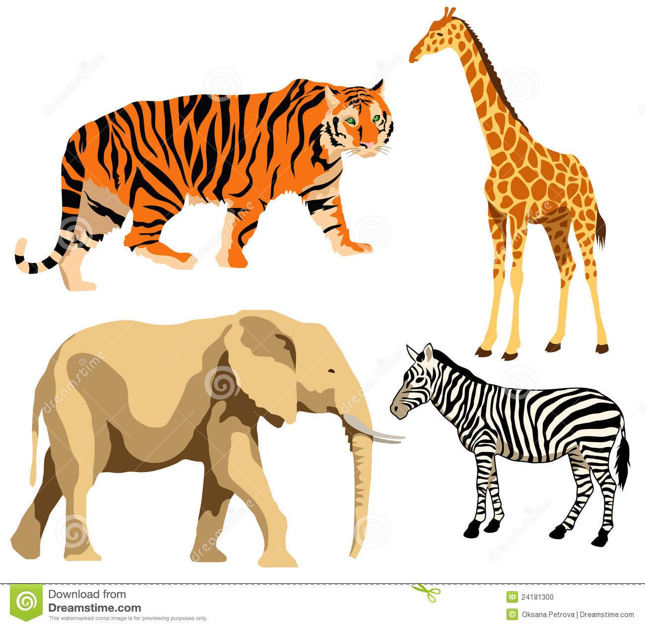 Wildlife clipart africa Wildlife African clipart clipart wildlife
