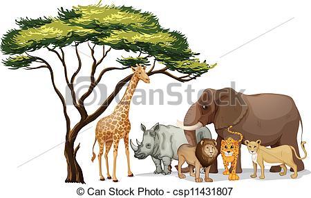 Wildlife clipart africa Art reserve%20clipart Clipart Free Panda