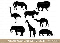 Wildlife clipart african wildlife Wildlife  African various $3