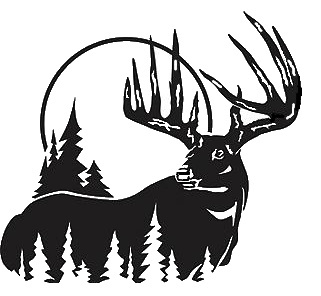 Hunting clipart whitetail deer #2