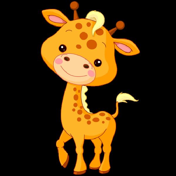 Animal clipart baby giraffe  part Cute the as