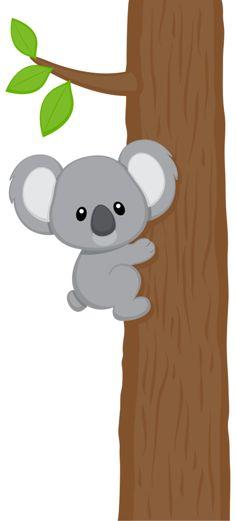 Wildlife clipart cute koala Baby Фотки KoalaCute Pinterest Яндекс