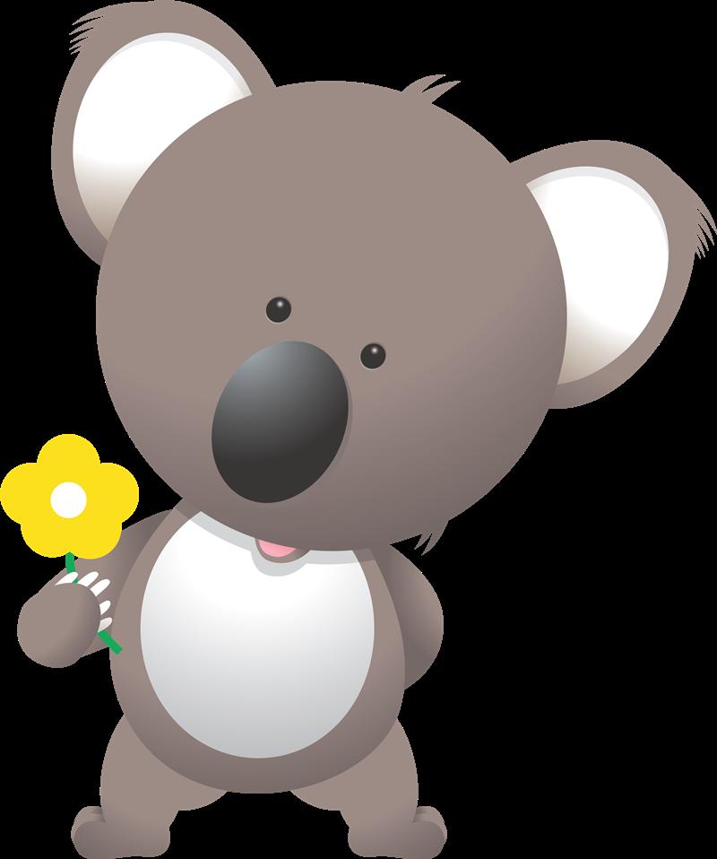 Wildlife clipart cute koala Koala Cute Clip & Free