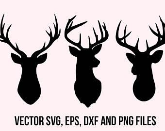 Antler clipart doe head Svg Deer Deer Deer head