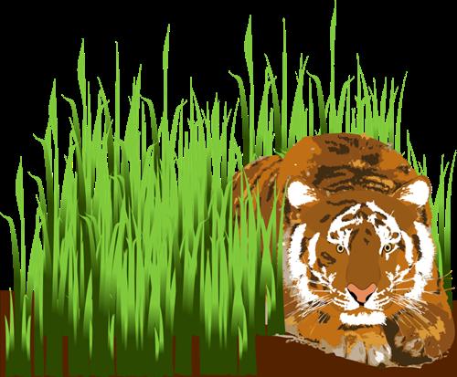 Wildlife clipart grass Cliparting grass com art green