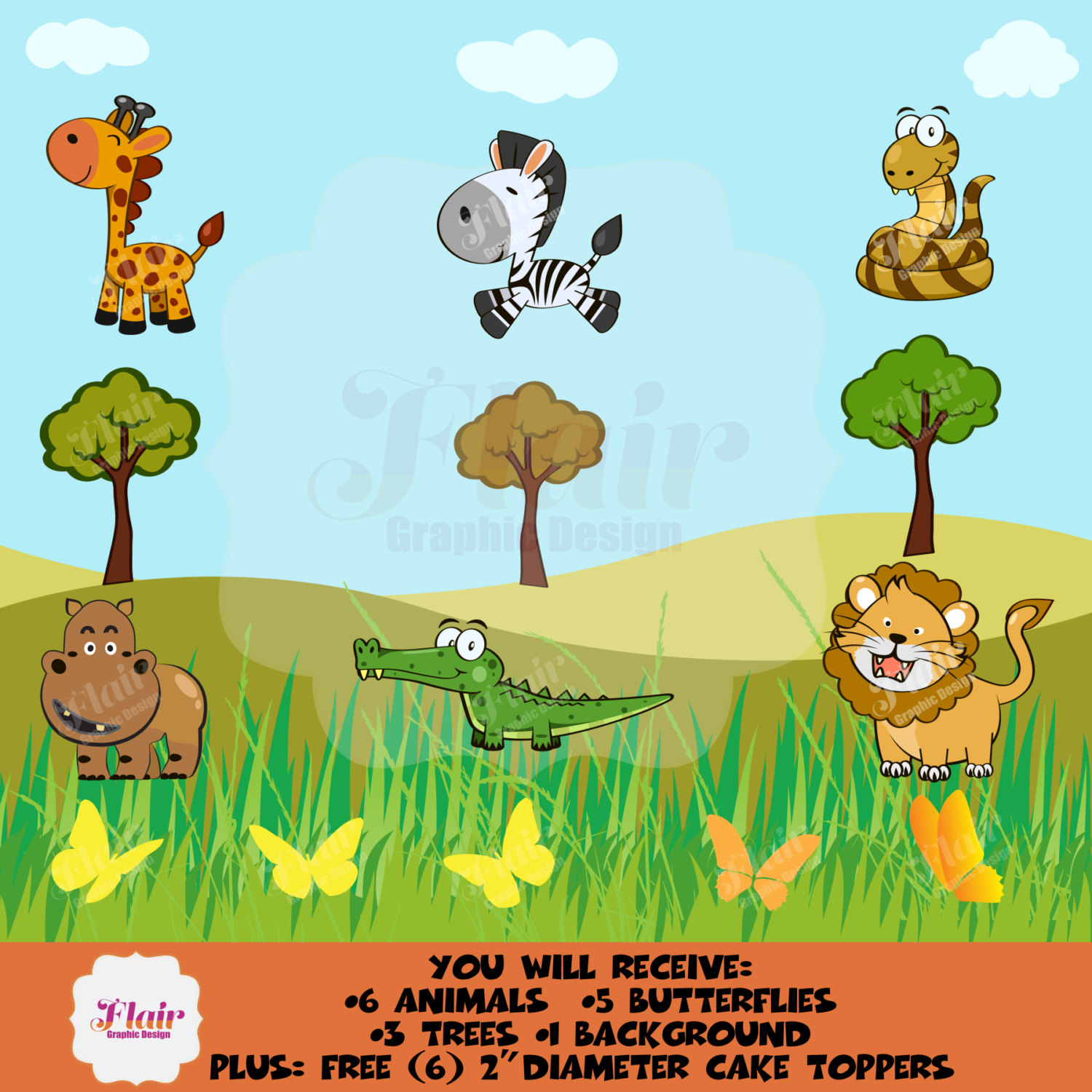 Wildlife clipart grass  a Animals is This