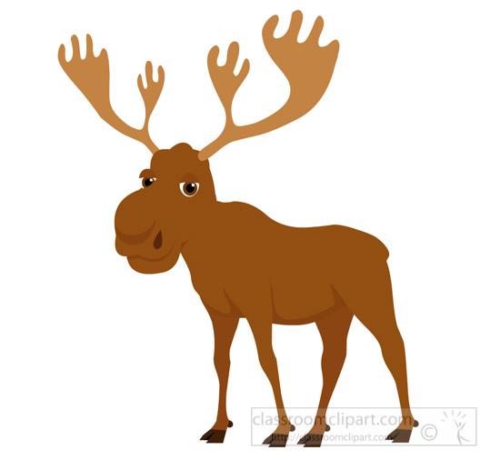 Wildlife clipart moose antler Broad clipart antlers Deer Size:
