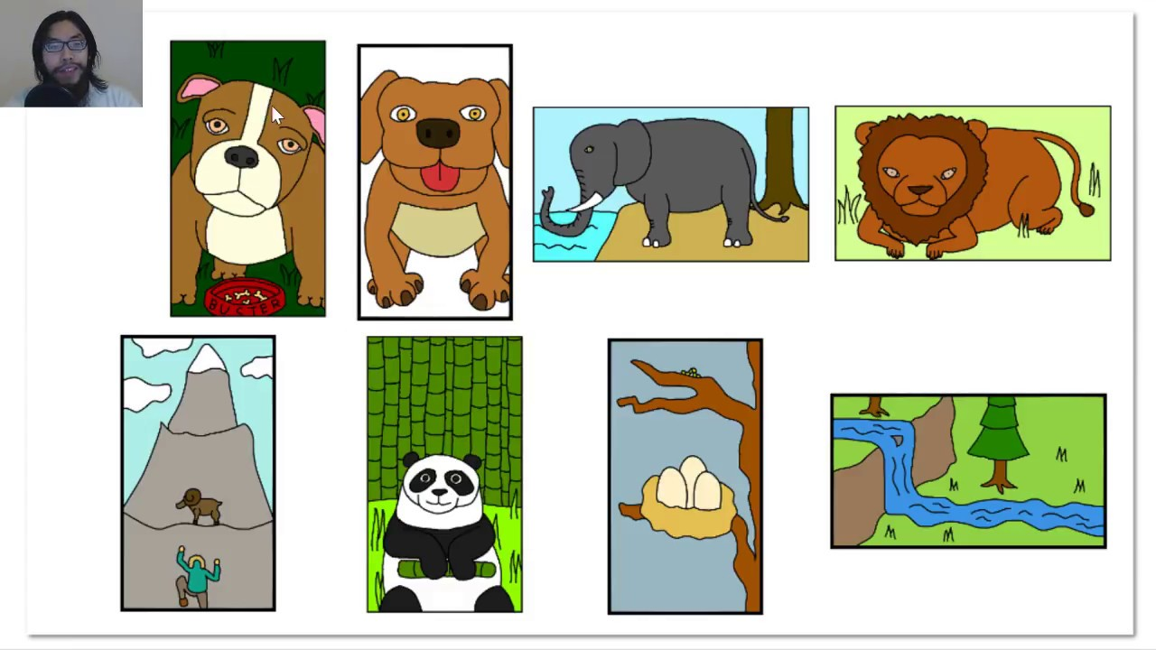 Wildlife clipart scenery YouTube Animals Week Week Nature