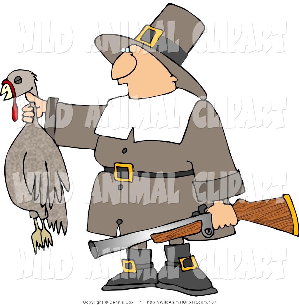 Wildlife clipart turkey hunting Pilgrim a Male Successful Clip