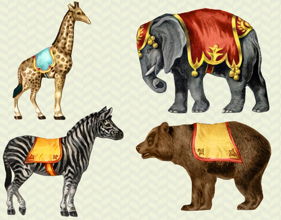 Wildlife clipart vintage animal Clipart Animals Cliparts Animals Vintage