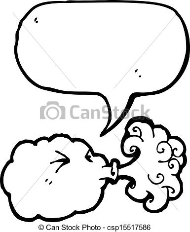 Wind clipart angry cloud Collection cloud of Vector clipart