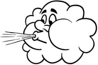 Wind clipart cute « Clipart #5895 Wind Wind