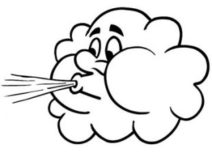 Wind clipart angry cloud Tatting represents Spirit the Wind