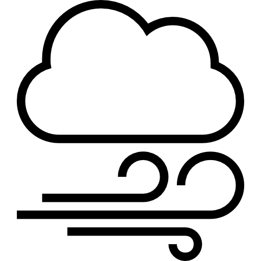 Wind clipart weather icon Windy weather symbol symbol weather