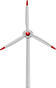 Wind Turbine clipart modern windmill Wind Clip Art Download Turbine