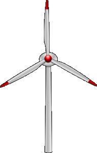 Wind Turbine clipart #9