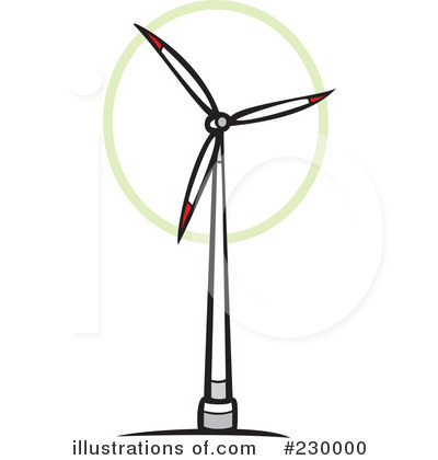 Wind Turbine clipart modern windmill (RF) Turbine #230000 Turbine by