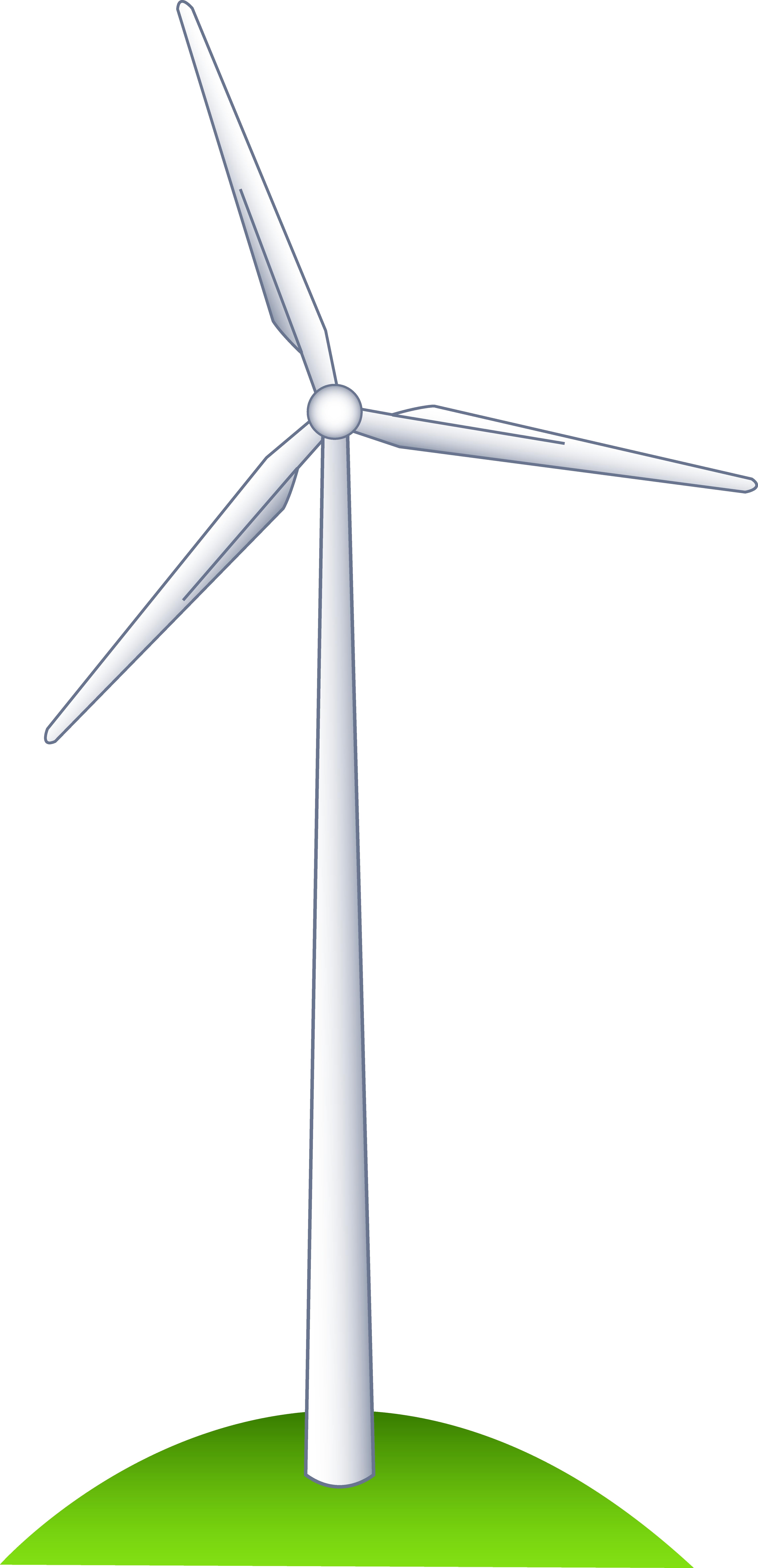 Wind Turbine clipart #14