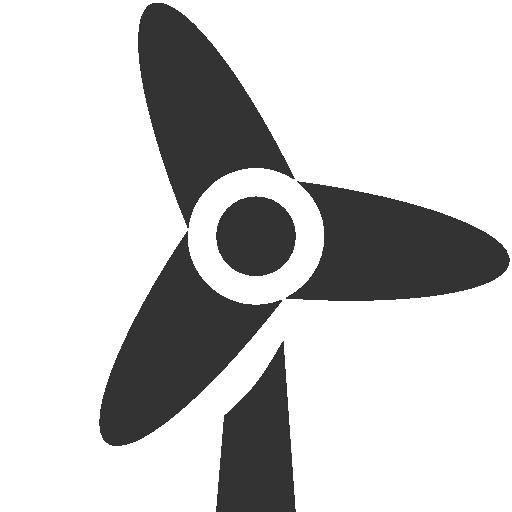 Wind Turbine clipart icon Wind Free wind icon –