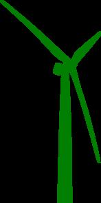 Turbine clipart wind turbine Online at com art Green