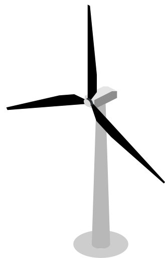 Wind Turbine clipart water turbine SVG mechanic power PNG Similar