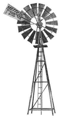 Windmill clipart ART Toff  AND Metters