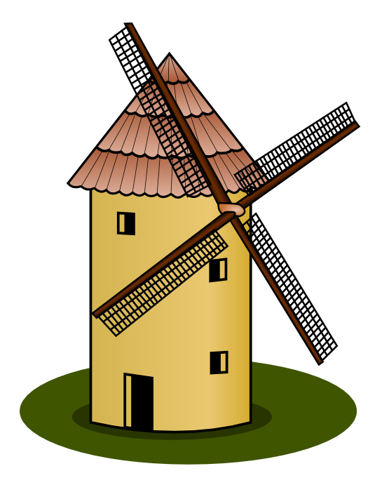 Windmill clipart old fashioned Clipart village%20clipart Clipart Clipart Images