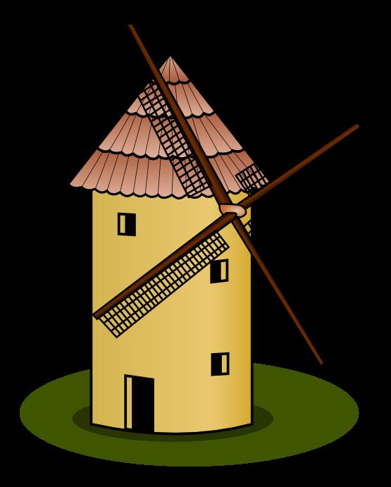 Windmill clipart holland windmill Village%20clipart Free Clipart Windmill Clipart