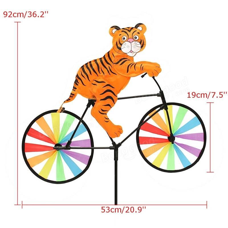 Windmill clipart air pressure Tiger Windmill Spinner on Bike