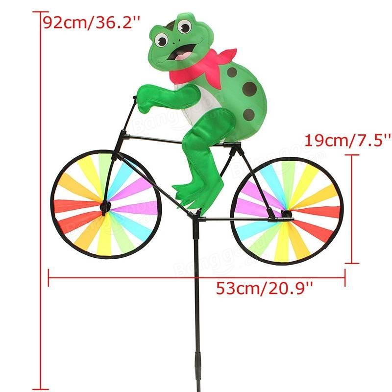 Windmill clipart air pressure Frog Animal Spinner on Bike