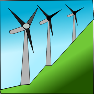 Windmill clipart animated Royalty Wind Clker art online
