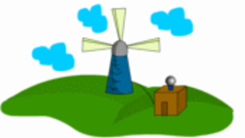 Windmill clipart animated  GIPHY Windmill Find on