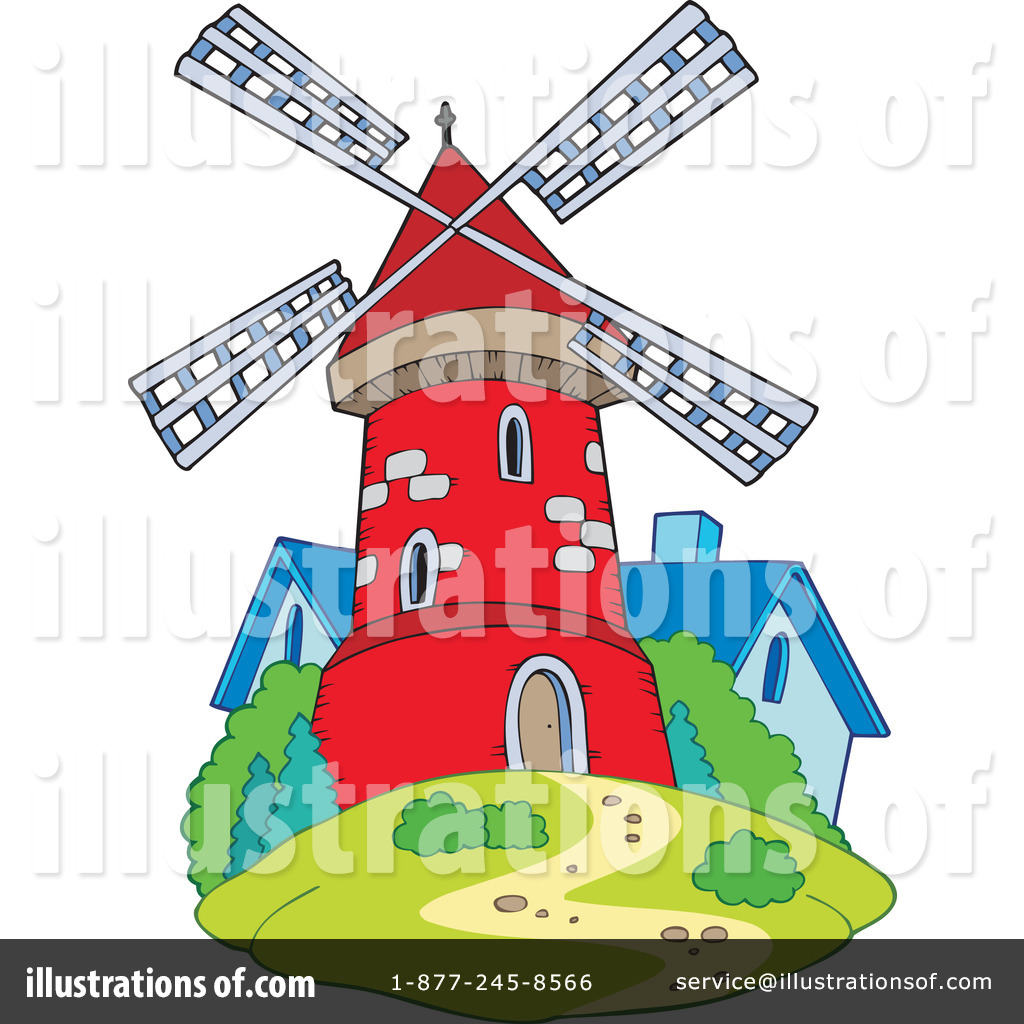 Windmill clipart dutch windmill #10