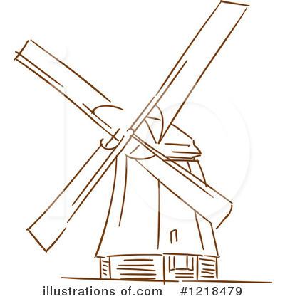 Windmill clipart dutch windmill Dutch #1218479 Tradition Vector Clipart