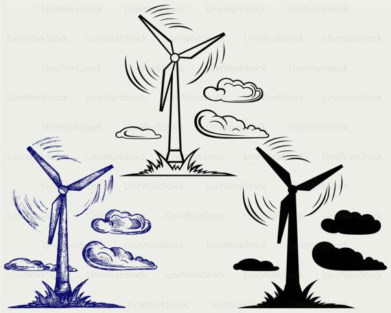 Windmill clipart electric Cut windmill svg cricut windmill
