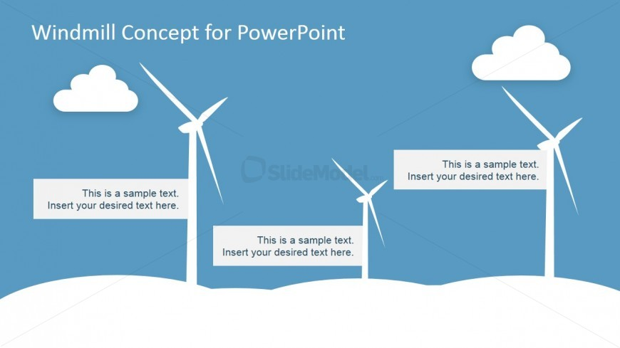 Windmill clipart electric SlideModel Electric for PowerPoint PowerPoint