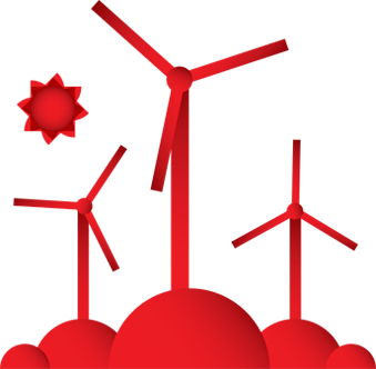 Windmill clipart electric Wind MW of V110 Farm