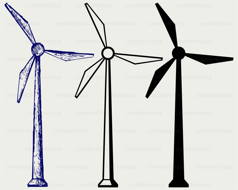 Windmill clipart electric Power svg Windmill windmill clipart