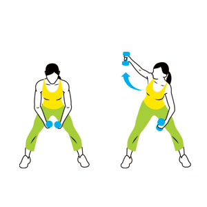 Windmill clipart exercise Total Workout Work Women: Body