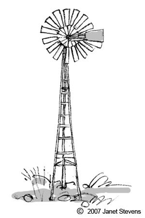 Windmill clipart farm windmill Google windmill Search Google Pinterest