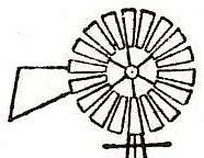 Windmill clipart head #2