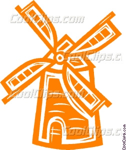 Windmill clipart holland windmill #4