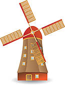 Windmill clipart holland windmill #7