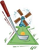 Windmill clipart mini golf Golf Lake Public – minigolf