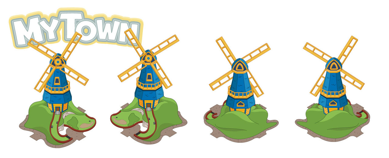 Windmill clipart mini golf #15