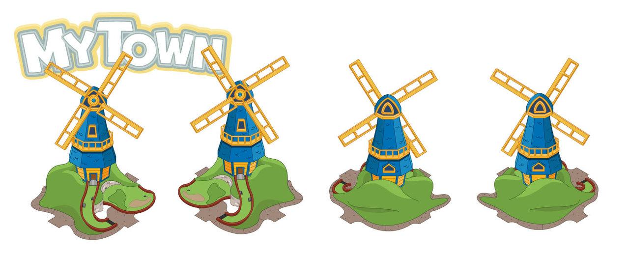 Windmill clipart mini golf Windmill DeviantArt serkworks Golf by