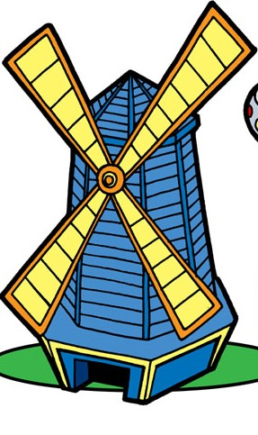 Windmill clipart mini golf #6