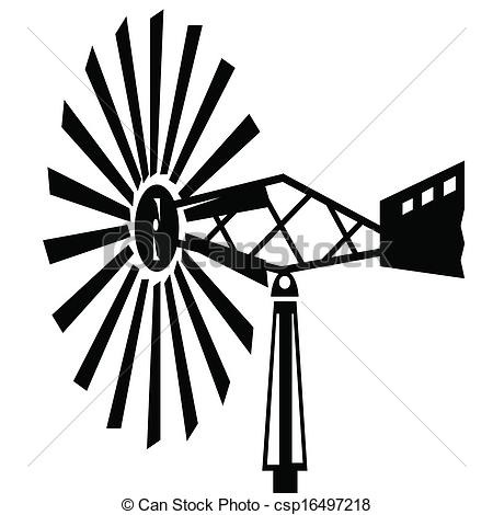 Windmill clipart old fashioned #3